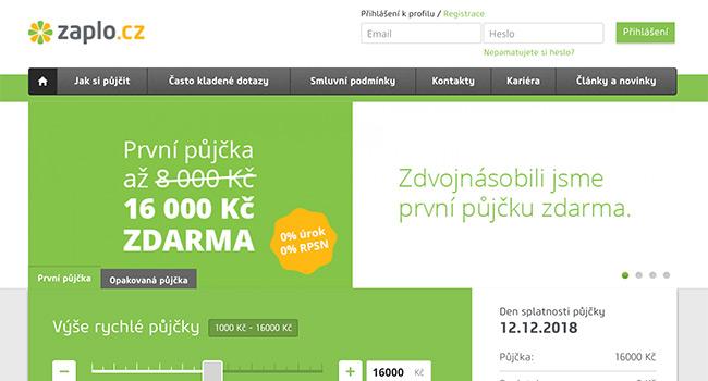 První půjčka až16 000 KčZDARMAna 30 dní